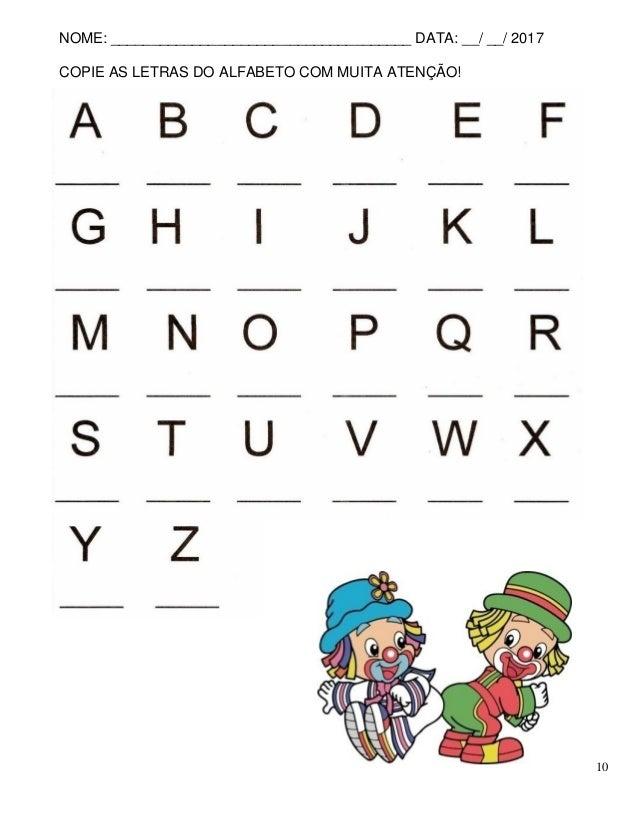 Well-known Apostila atividades de alfabetização ZK85