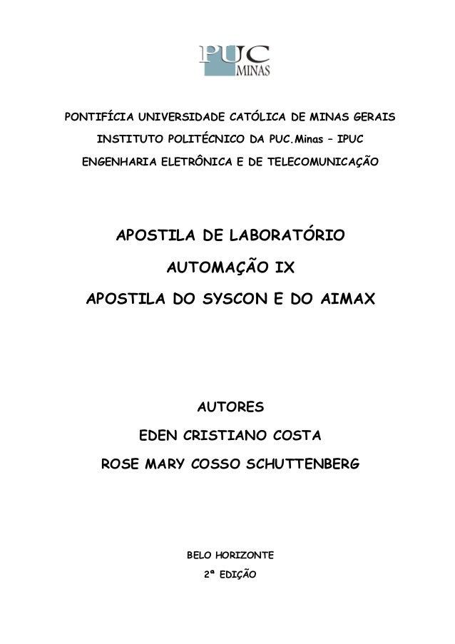 PONTIFÍCIA UNIVERSIDADE CATÓLICA DE MINAS GERAIS INSTITUTO POLITÉCNICO DA PUC.Minas – IPUC ENGENHARIA ELETRÔNICA E DE TELE...