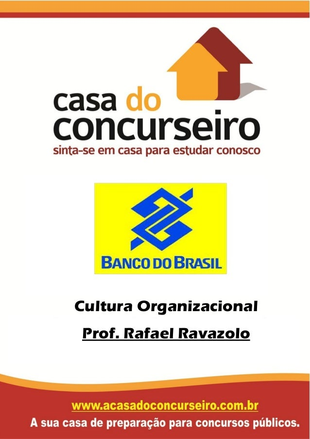 Cultura Organizacional Prof. Rafael Ravazolo