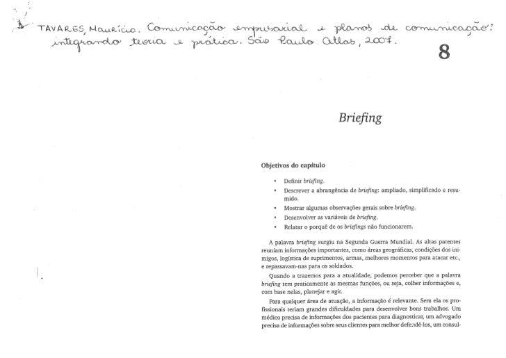 Apostila briefing 2