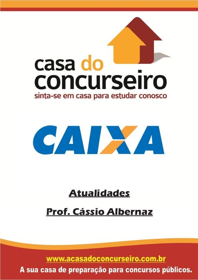 Atualidades Prof. Cássio Albernaz
