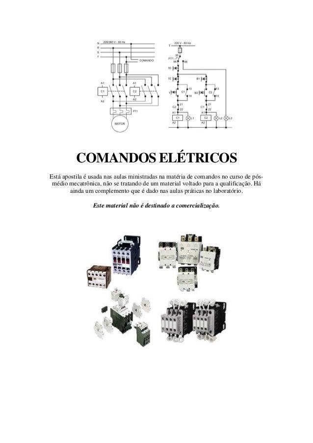 COMANDOS ELÉTRICOSEstá apostila é usada nas aulas ministradas na matéria de comandos no curso de pós-médio mecatrônica, nã...