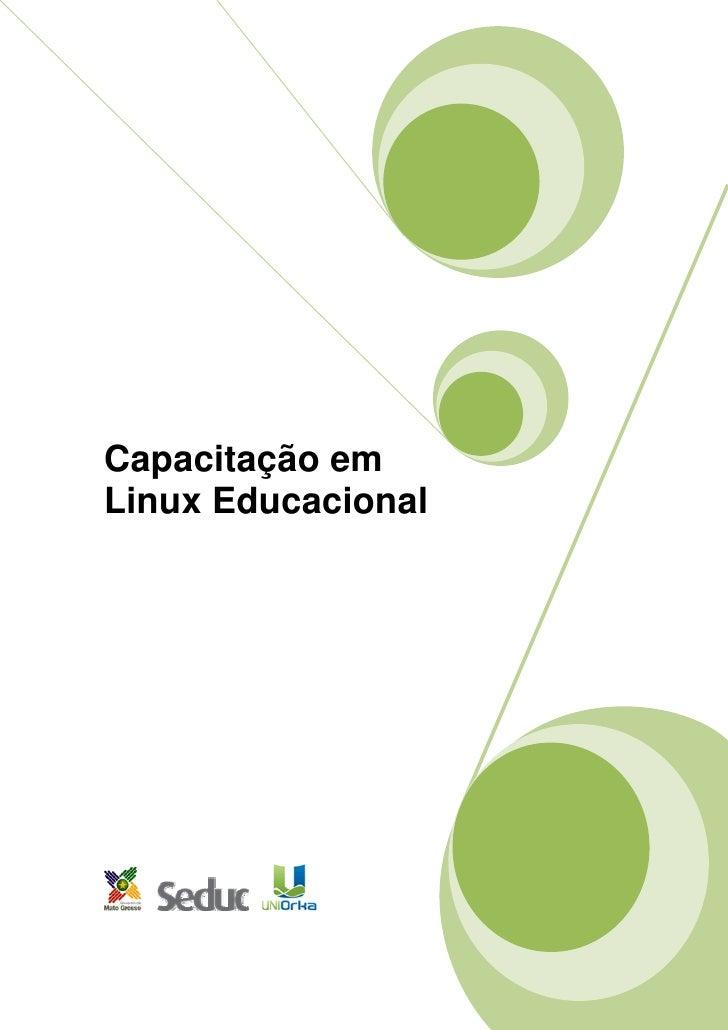 Capacitação em Linux Educacional