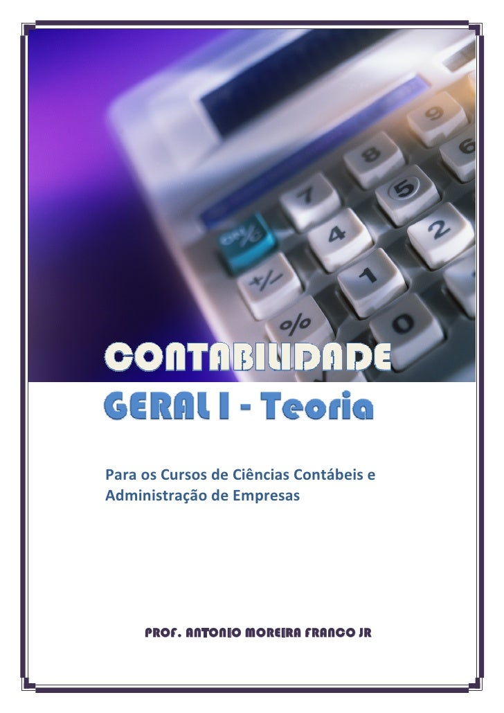 Apostila contabilidade geral completa