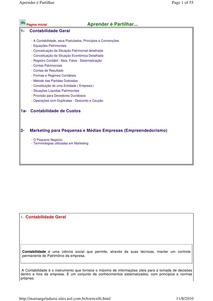 Apostila contabilidade i   duplicatas