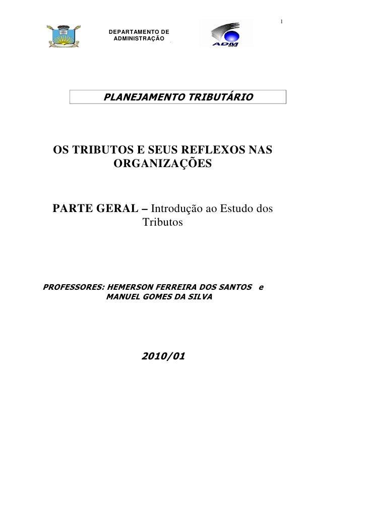 Apostila contabil tributaria 2010