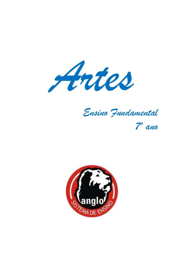 Artes Ensino Fundamental 7º ano