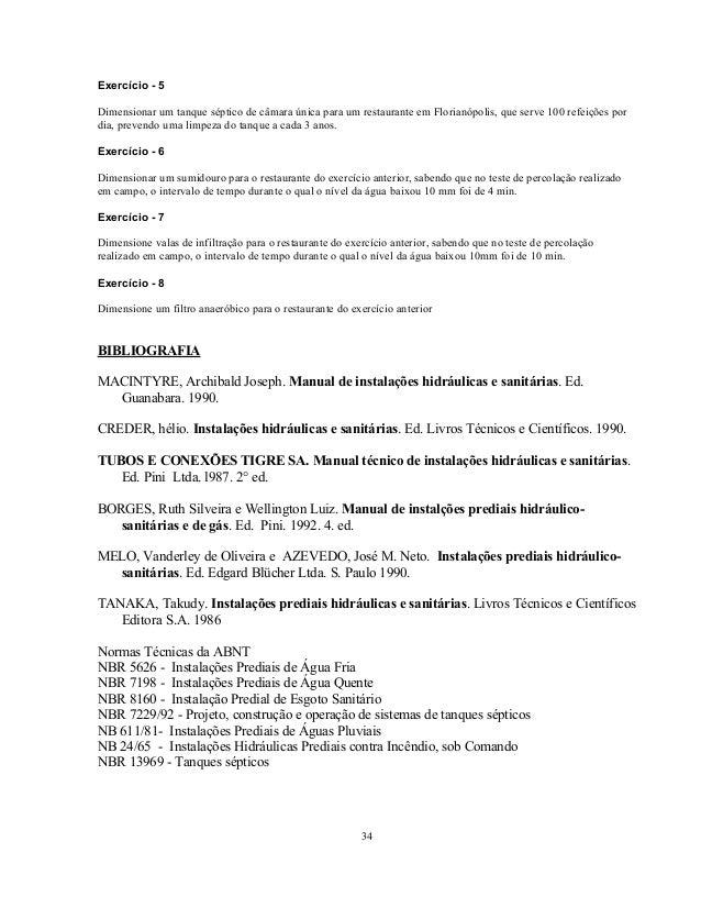 DE BAIXAR HIDRAULICO APOSTILA ENCANADOR