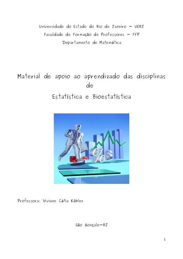 Universidade do Estado do Rio de Janeiro - UERJ Faculdade de Forma o de Professores - FFPçã Departamento de Matem ticaá Ma...
