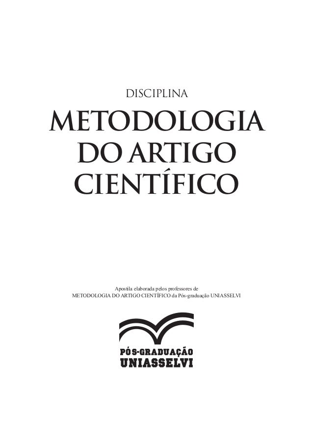 Metodologia de artigo