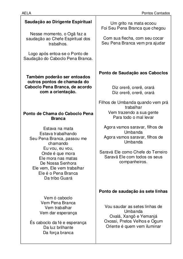 CABOCLO BAIXAR PONTOS UMBANDA DE