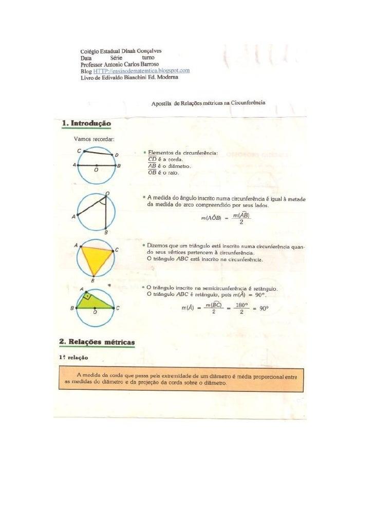 Livro de Matemática Edivaldo Bianchini Ed. ModernaAccbarroso@hotmail.com