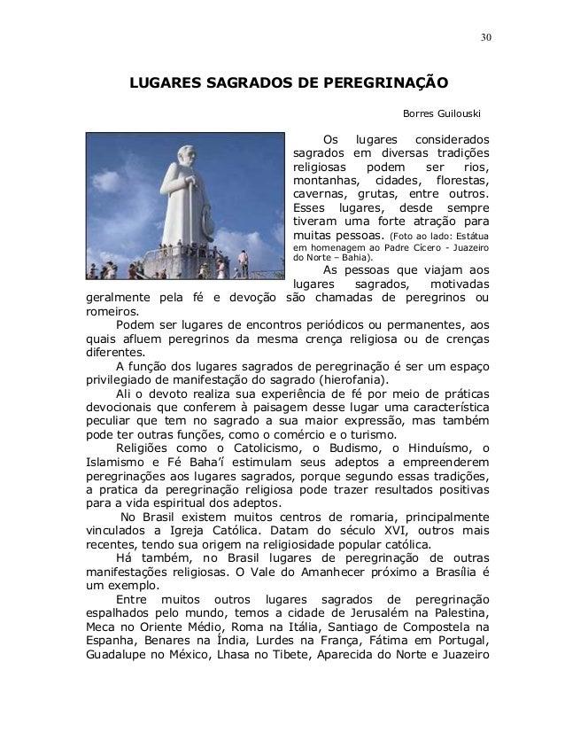 30       LUGARES SAGRADOS DE PEREGRINAÇÃO                                                        Borres Guilouski         ...