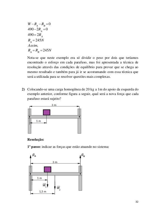 32 0 490 2 0 490 2 245 , 245 A B A A A A B W R R R R R N Assim R R N          Nota-se que neste exemplo era só di...