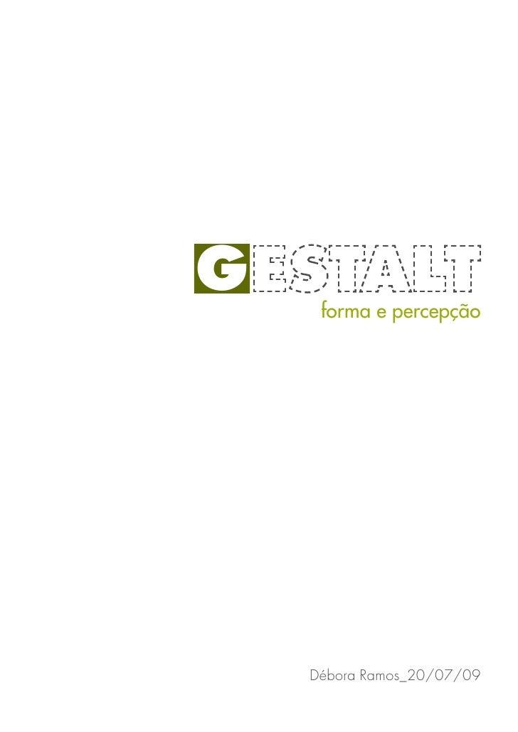 Apostila sobre Gestalt