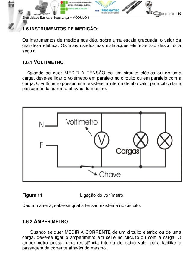 Apostila ifba eletricidade basica cursos pronatec 07db8fe273