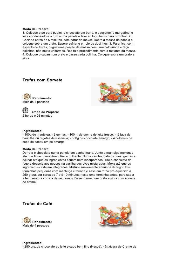 Apostila receitas de trufas  Slide 3