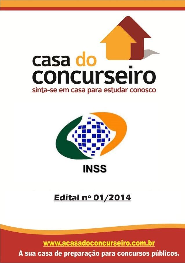 Edital nº 01/2014