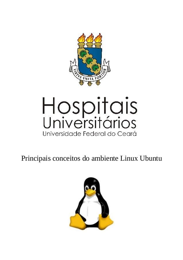 Principais conceitos do ambiente Linux Ubuntu