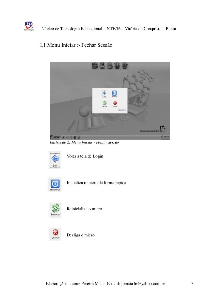 Apostila Linux Educacional 3.0 Slide 3