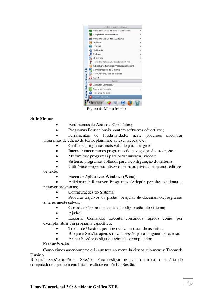 LINUX DO BAIXAR EDUCACIONAL 3.0 APOSTILA