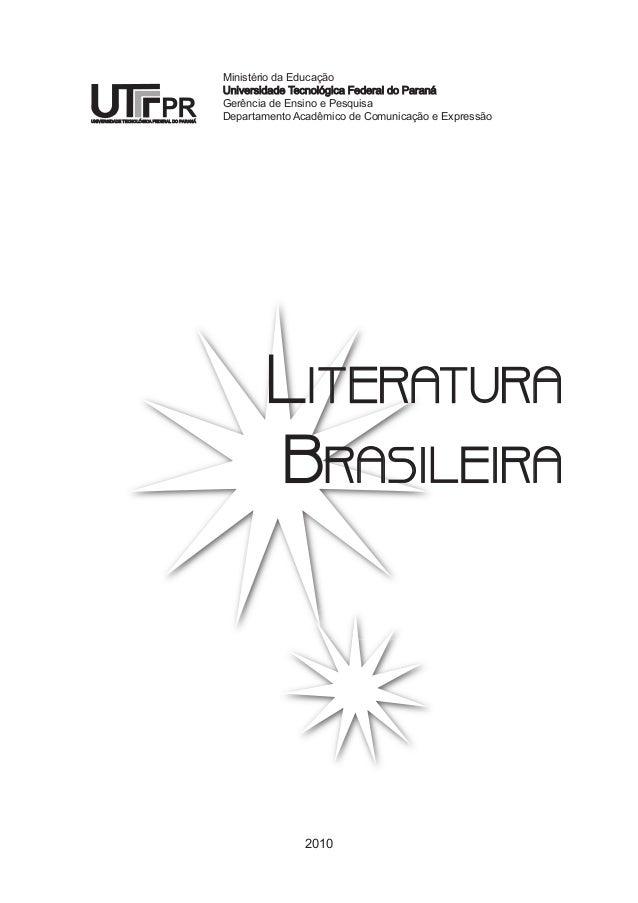 Ministério da Educação  Universidade Tecnológica Federal do Paraná  Gerência de Ensino e Pesquisa  Departamento Acadêmico ...