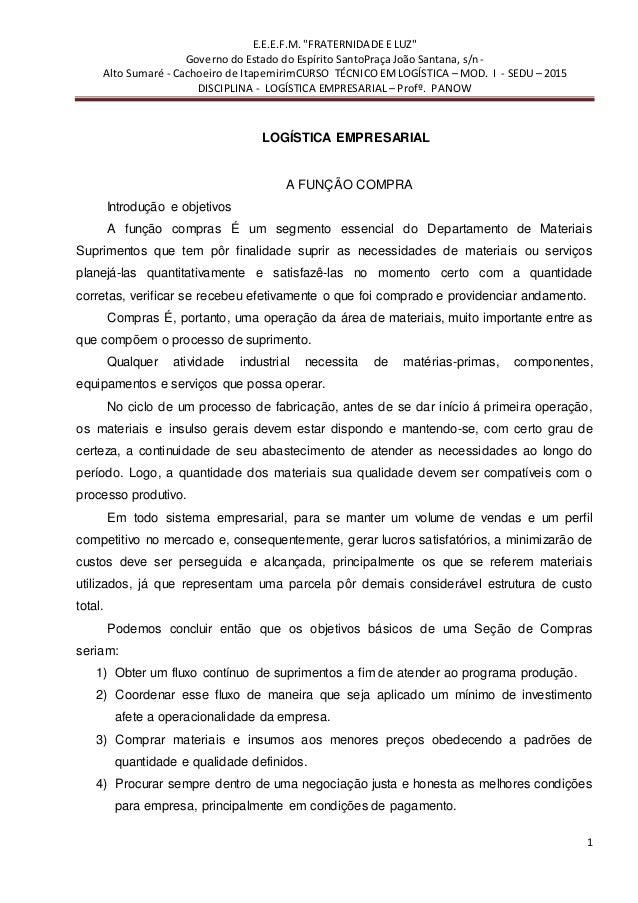"""E.E.E.F.M. """"FRATERNIDADE E LUZ"""" Governo do Estado do Espírito SantoPraça João Santana, s/n- Alto Sumaré - Cachoeiro de Ita..."""