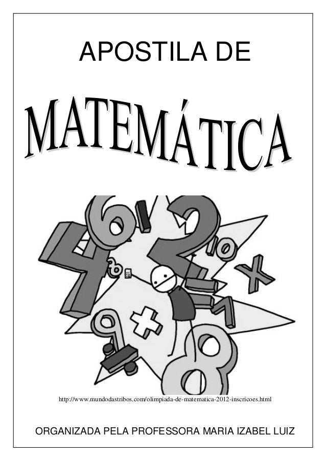 Apostila adaptada pela professora da Sala Multifuncional Página 1 APOSTILA DE http://www.mundodastribos.com/olimpiada-de-m...