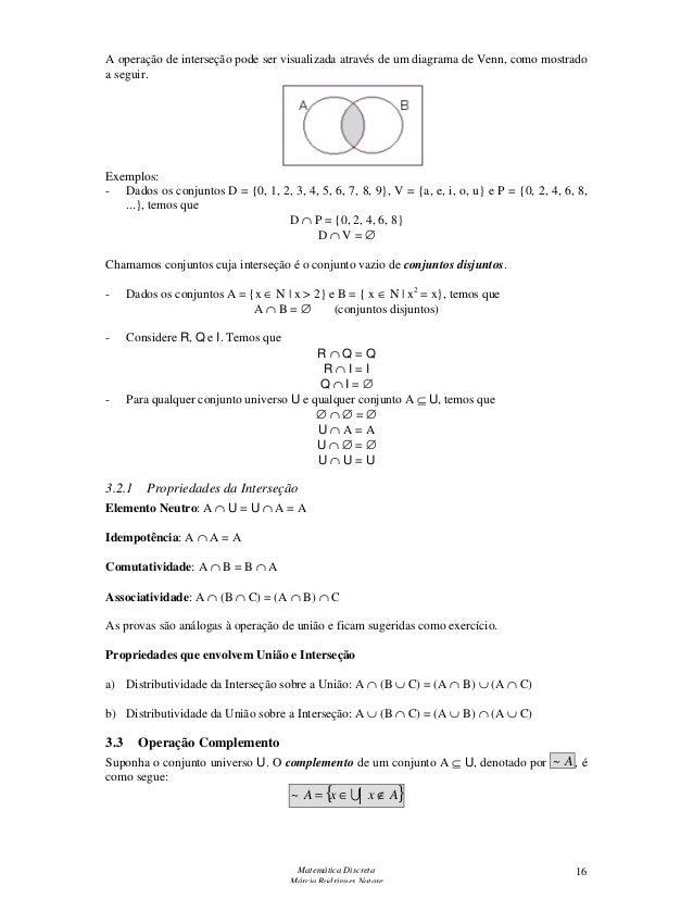 Apostila matemtica discreta ccuart Gallery