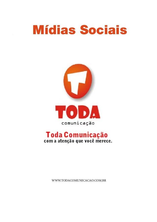 Apostila CDC  Mídias Sociais    WWW.TODACOMUNICACAO.COM.BR