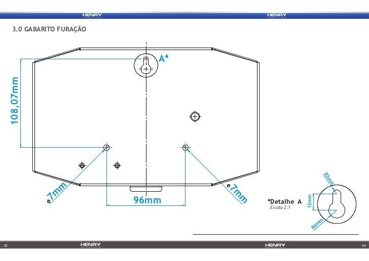 Manual de Instalação REP Henry Orion 6 e 7x