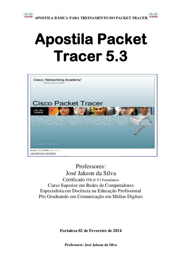 Packet Tracer Instructor Manual