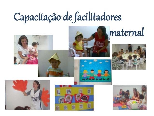 Capacitação de facilitadores  maternal