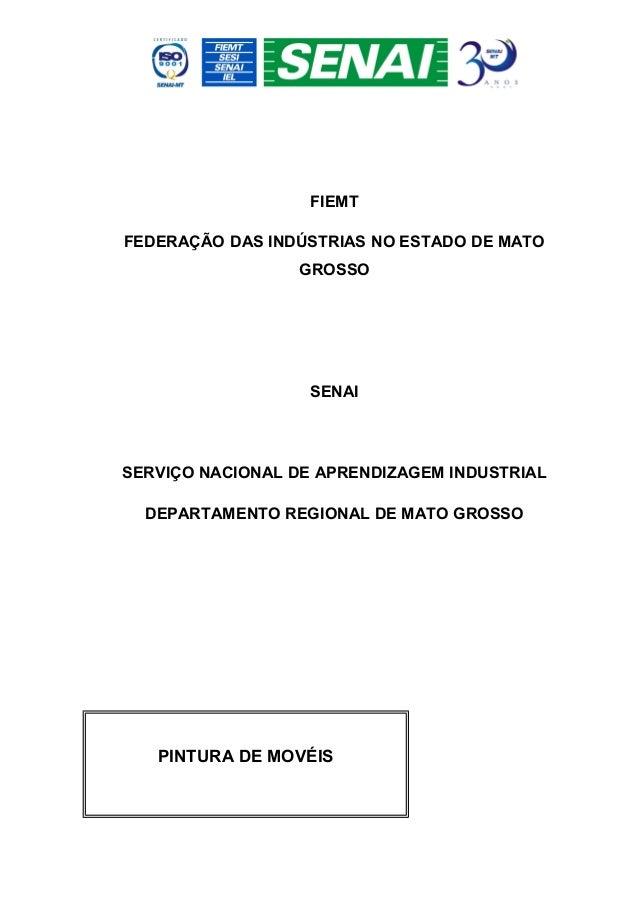 FIEMTFEDERAÇÃO DAS INDÚSTRIAS NO ESTADO DE MATO                 GROSSO                   SENAISERVIÇO NACIONAL DE APRENDIZ...