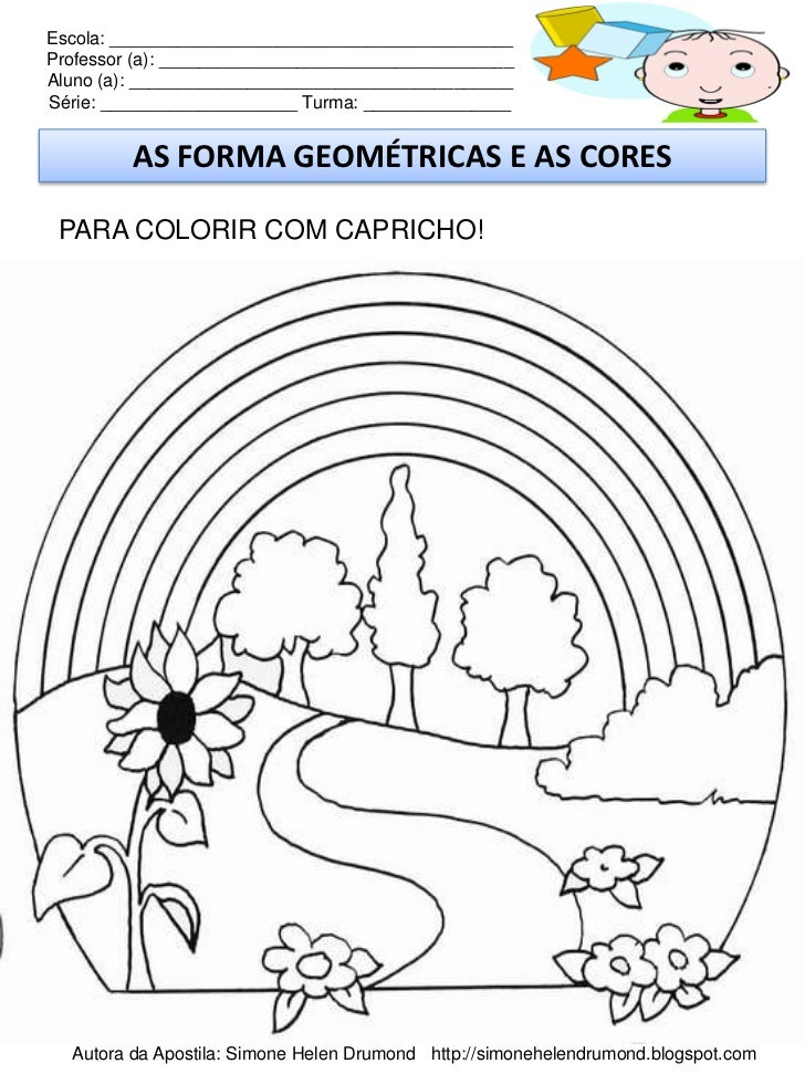 Apostila Plano E Projeto As Formas Geometricas Simone Helen Drumond