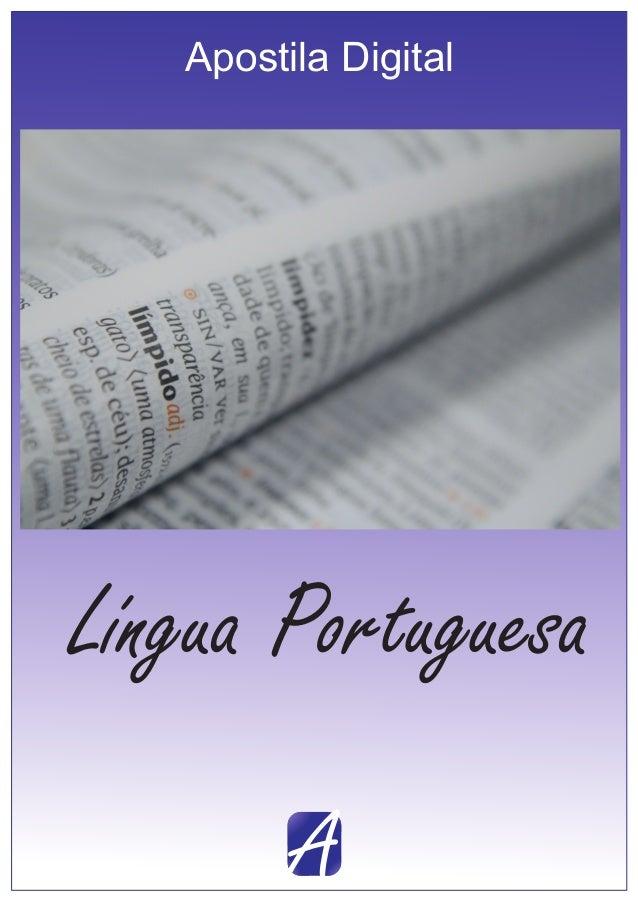 A Apostila Digital Língua Portuguesa