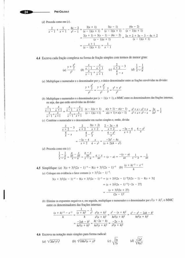 Apostila pre calculo
