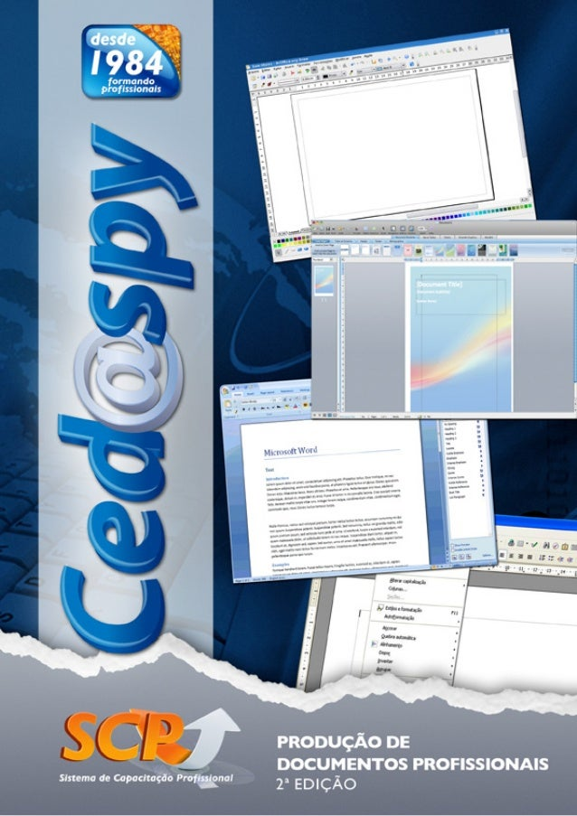 EDITORA CEDASPY LTDA.  CURITIBA - PR  2011  PRODUÇÃO DE DOCUMENTOS PROFISSIONAIS