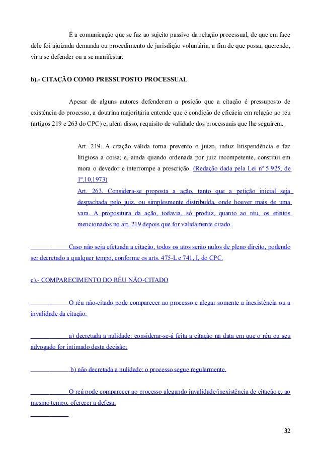 Artigo 213 cpc