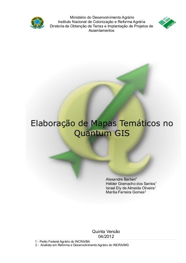 Ministério do Desenvolvimento Agrário  Instituto Nacional de Colonização e Reforma Agrária  Diretoria de Obtenção de Terra...