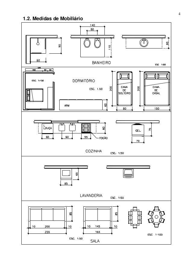 Apostila repgraf 2011 for Mobiliario para planos