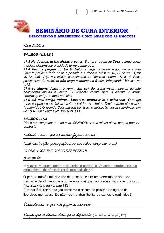 """www.missaomundialnovavida.com           1      """"2013 - Ano da Safra """"Somos Mil, Somos Um""""_________________________________..."""
