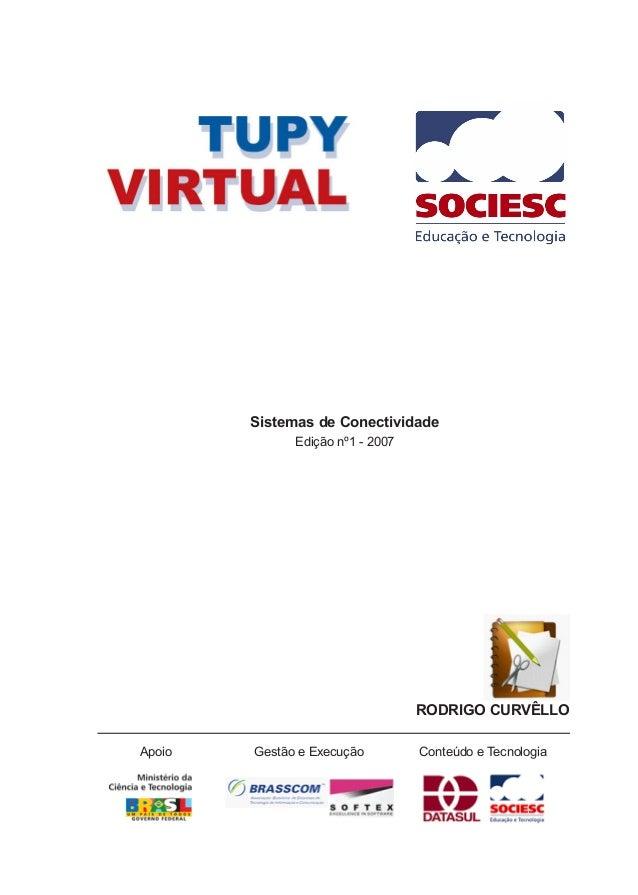 Sistemas de Conectividade Edição nº1 - 2007 RODRIGO CURVÊLLO Apoio Gestão e Execução Conteúdo e Tecnologia