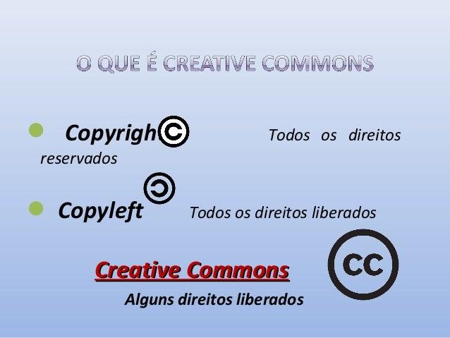 Quem usa o Creative Commons?