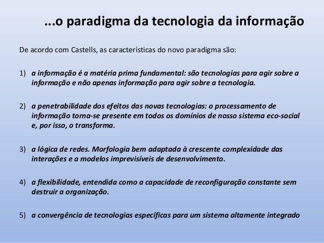 A nova economia economia informacional VÍDEO: consumidor na era das redes sociais http://www.youtube.com/watch?v=xAZnsG2sK...