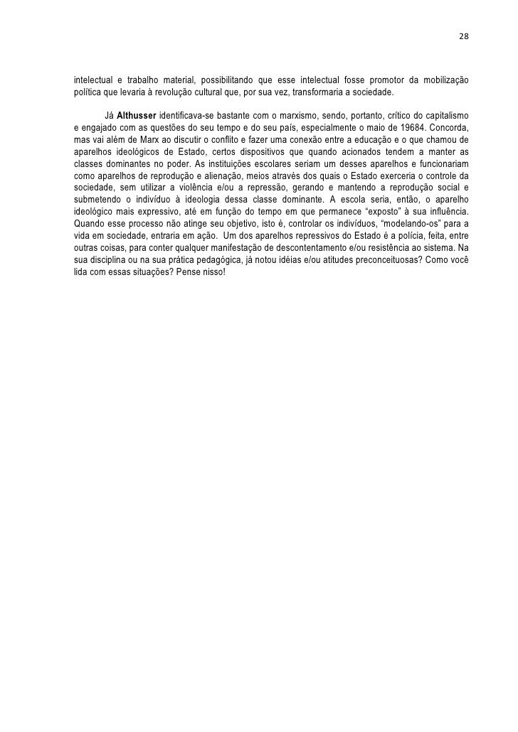 28intelectual e trabalho material, possibilitando que esse intelectual fosse promotor da mobilizaçãopolítica que levaria à...