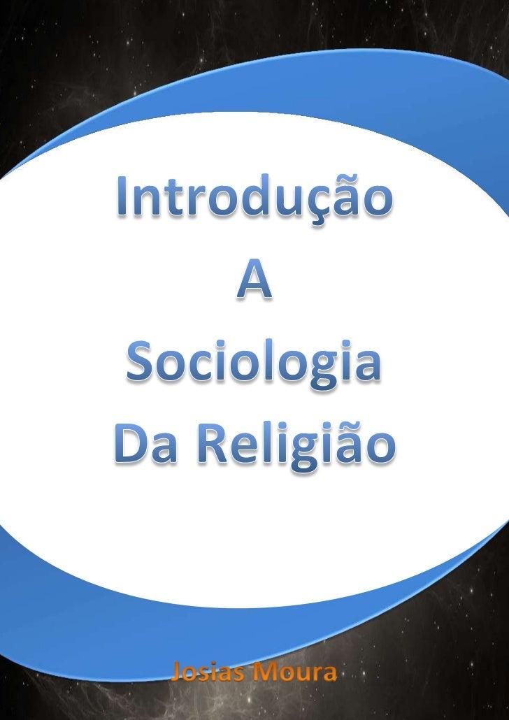 Curso de Sociologia da religião                                                                                           ...