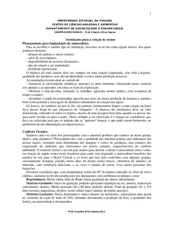 1                           UNIVERSIDADE ESTADUAL DA PARAIBA                      CENTRO DE CIÊNCIAS AGRÁRIAS E AMBIENTAIS...