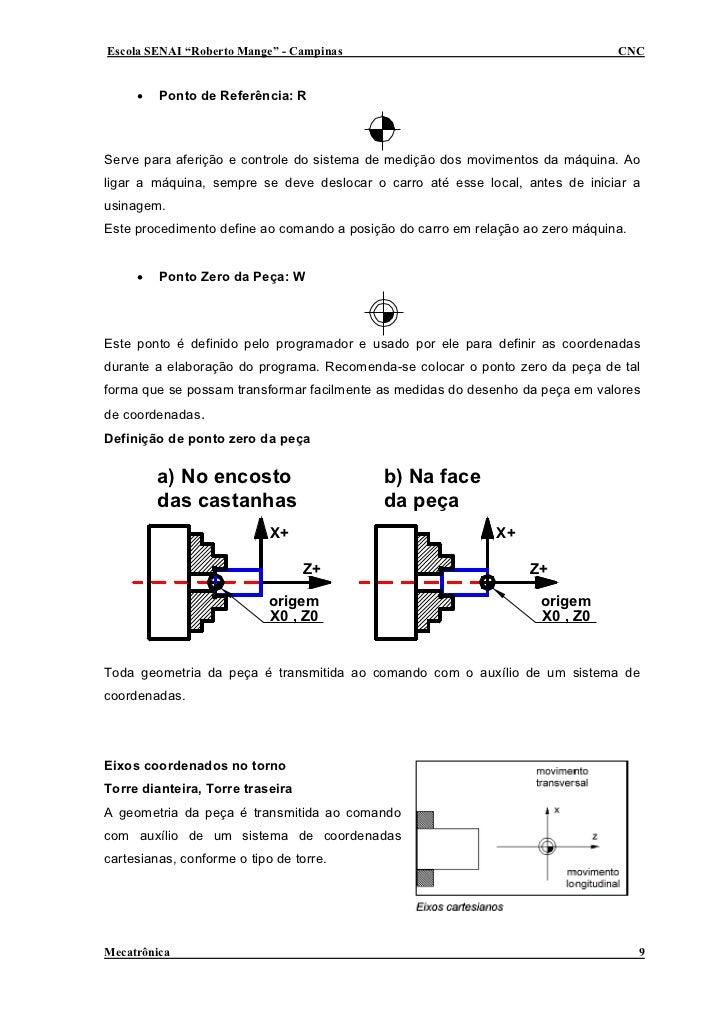"""Escola SENAI """"Roberto Mange"""" - Campinas                                         CNC        •   Ponto de Referência: R    S..."""