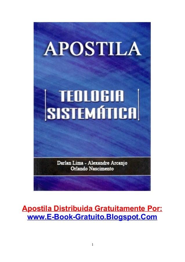 Apostila Distribuida Gratuitamente Por: www.E-Book-Gratuito.Blogspot.Com  1